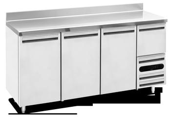Table réfrigérée - Système de réfrigération - Huppé Réfrigération