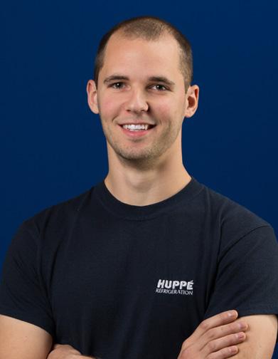Miguel Rioux - Équipe d'Huppé Réfrigération