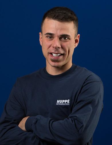 Vincent Dionne - Équipe d'Huppé Réfrigération