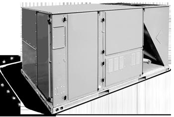 Unité de toit bi-bloc - Système de climatisation - Huppé Réfrigération