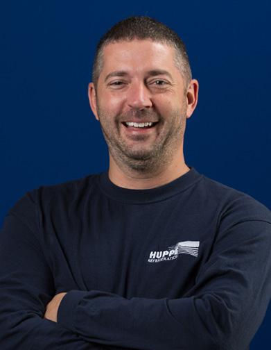Steve Lacasse - Équipe d'Huppé Réfrigération